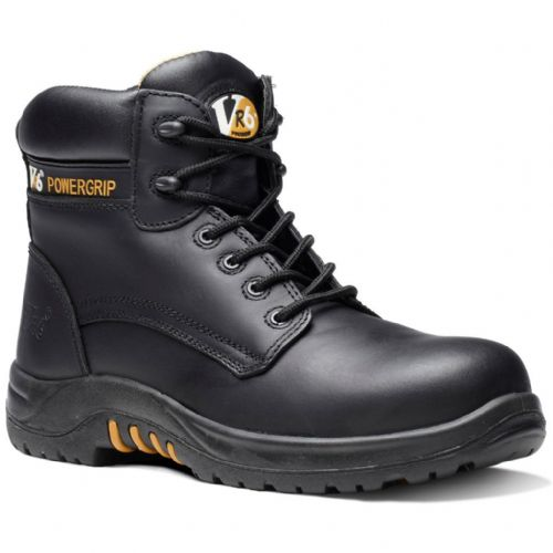 VR640 BISON BLACK COMPOSITE WAXY HIDE BOOT